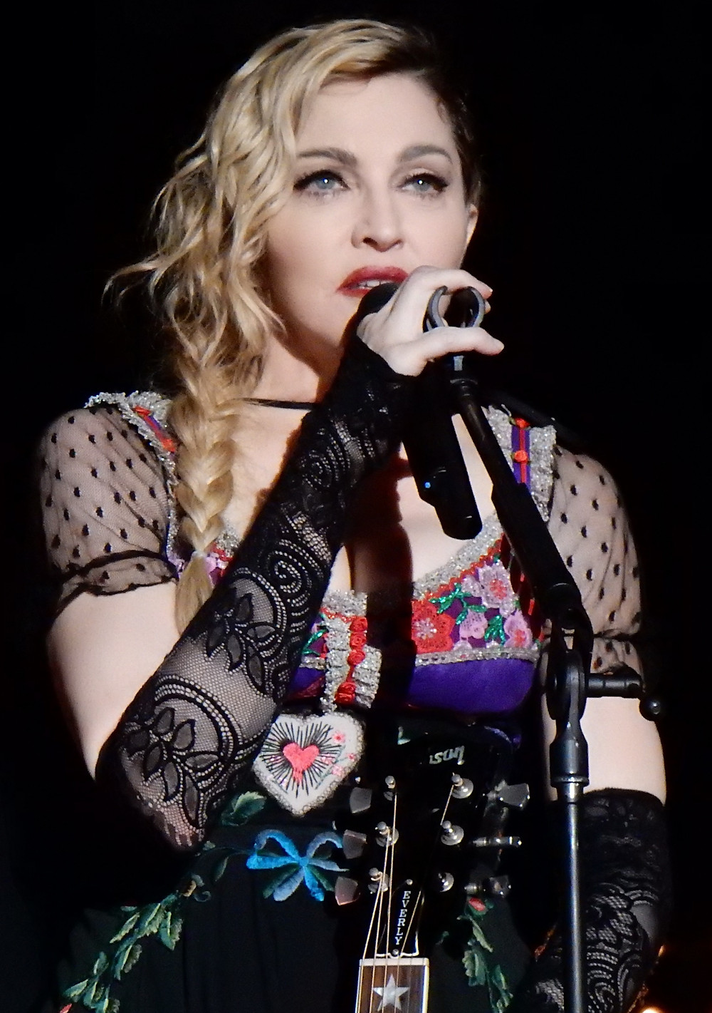 Madonna without plastic surgery
