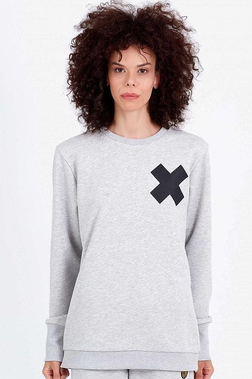 GONG   Women Crew Sweatshirt