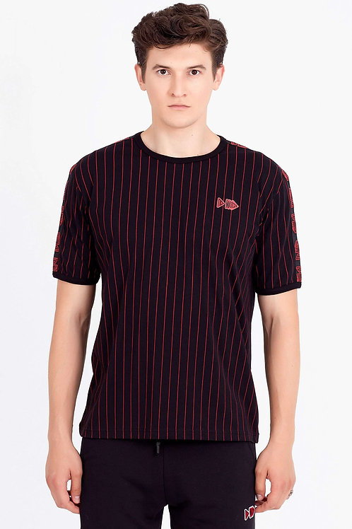 EQ EIGHT | Men S/S Stripe Tee