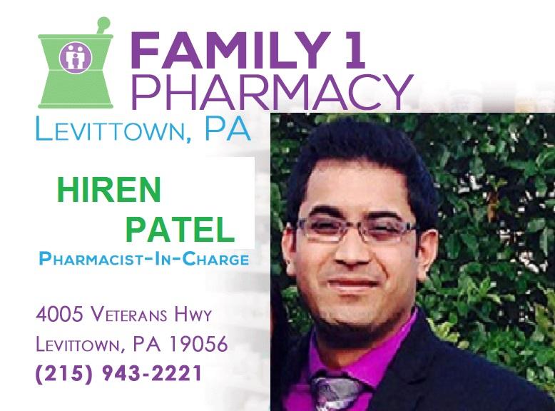 Hiren Patel RPh.
