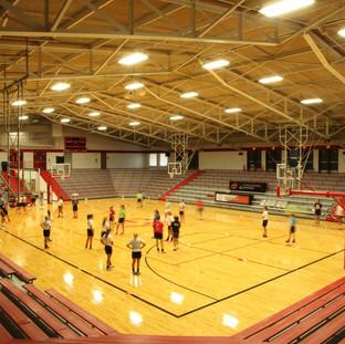 Center Grove High School Competition Gymnasium