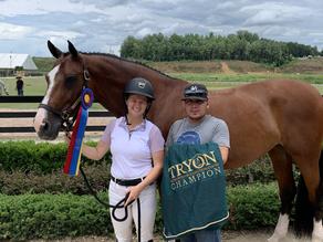 Kelsey and her rewarding week in Tryon