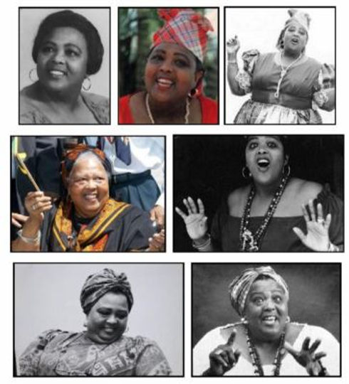 1 'Miss Lou' Jamaica's National Treasure