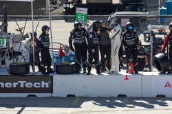 The pit crew.
