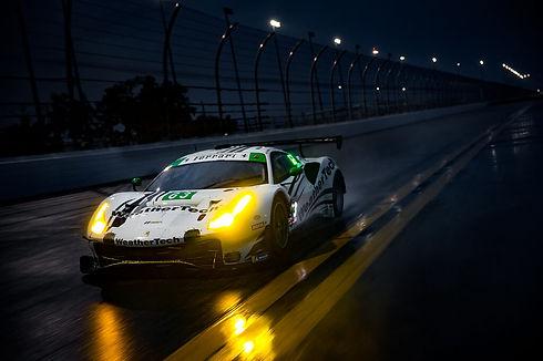 WeatherTech Ferrari at Daytona.