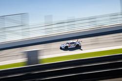 Porsche on straight away_