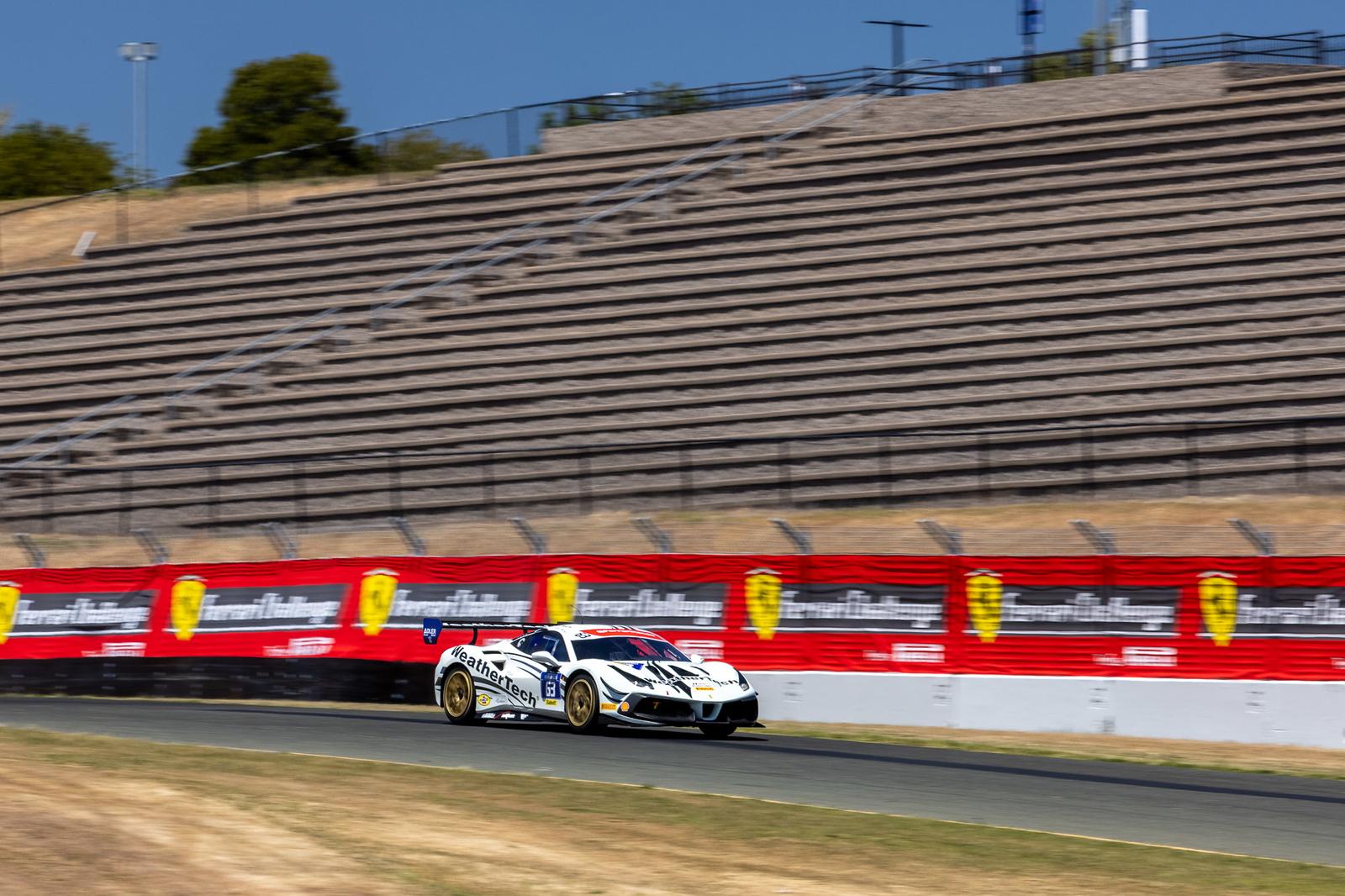 Ferrari racing.