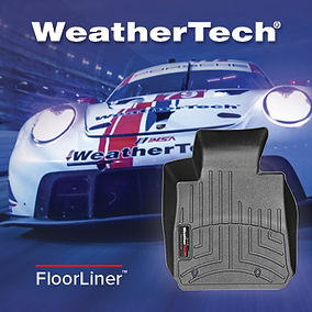 WeatherTech Racing FloorLiner Advertisem