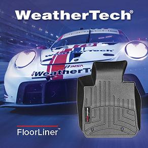 WeatherTech Racing FloorLiner Advertisem