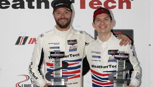 WeatherTech Racing Finishes Third at Lime Rock