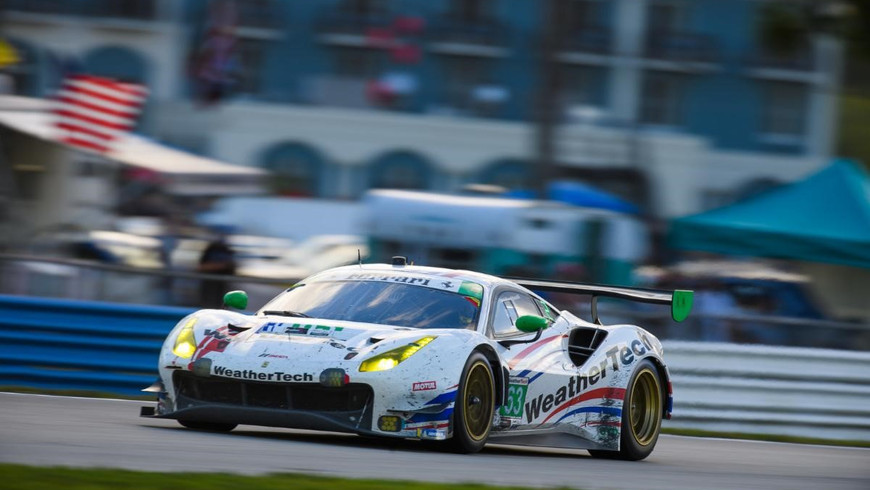 WeatherTech Racing Finishes Fourth at Sebring