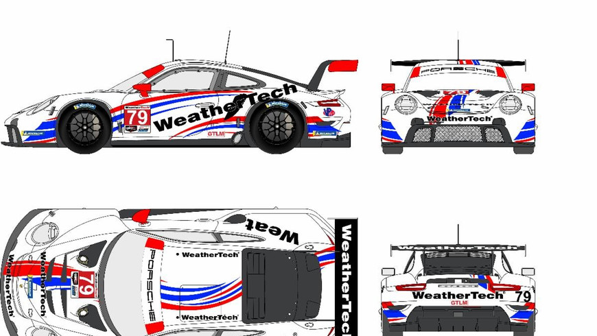 WeatherTech Racing Moves to IMSA GTLM with Porsche and Proton Competition