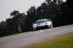 Ferrari on track.