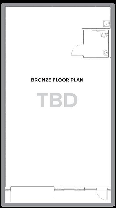 Bronze floor plan.