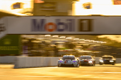 Porsche coming across the starting gate.