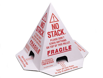A No Stack shipping cone.