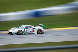 Ferrari Racing on track.