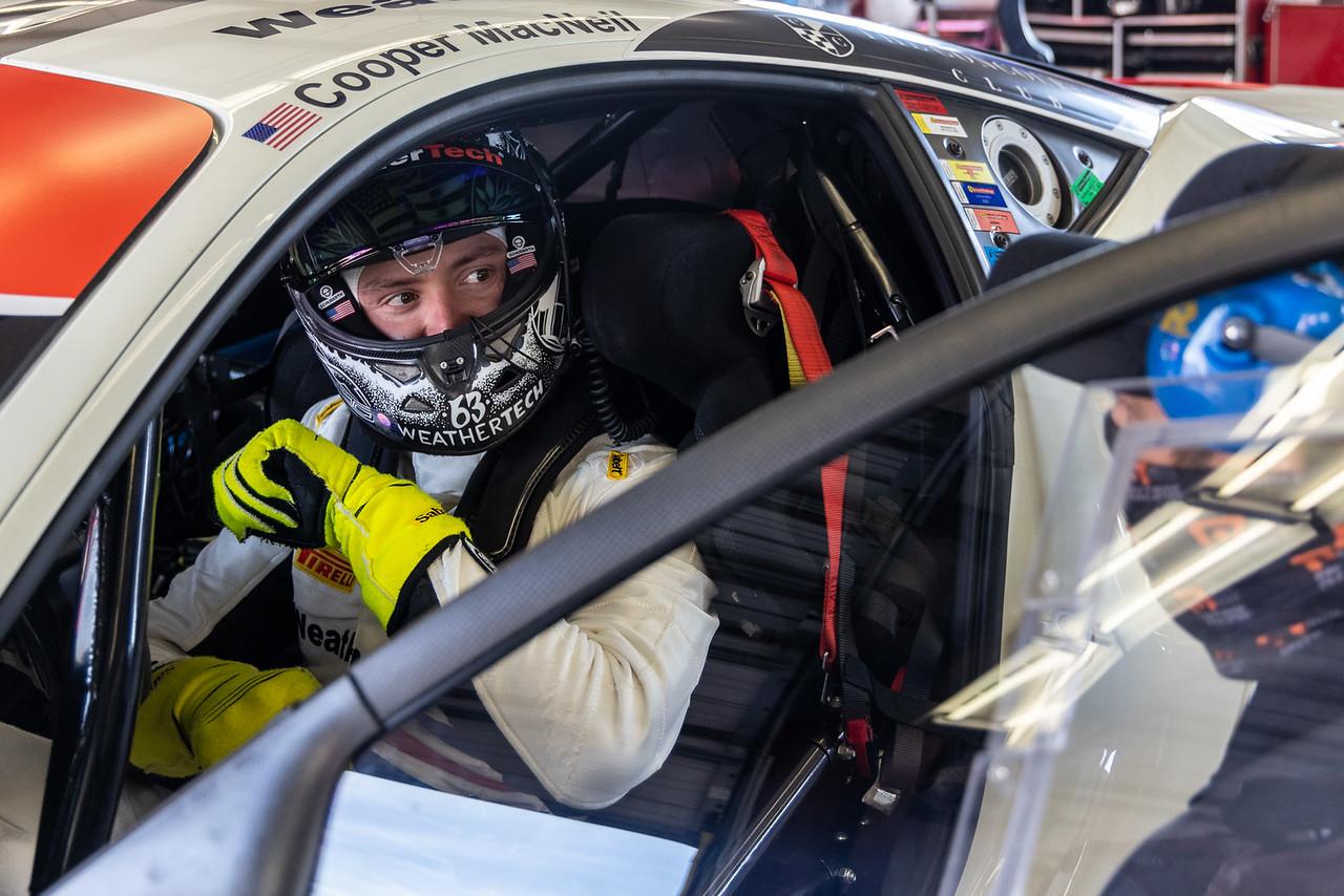 Cooper in the Ferrari.