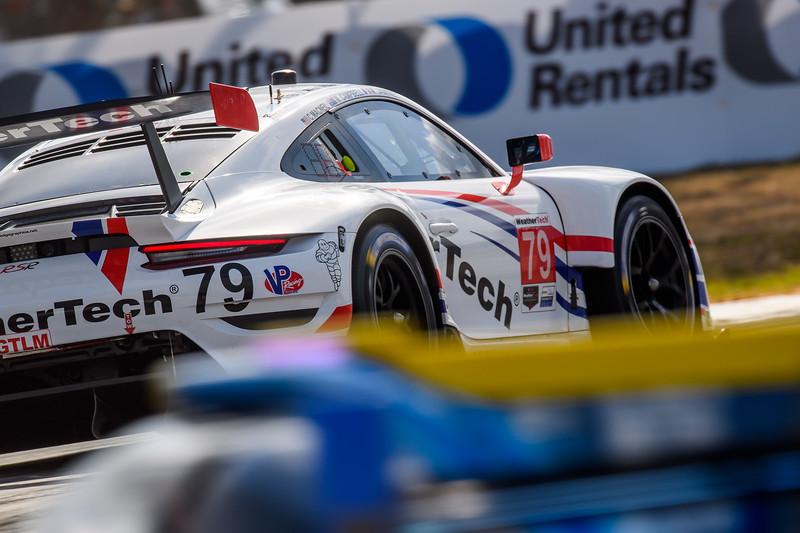 Close up of Porsche.