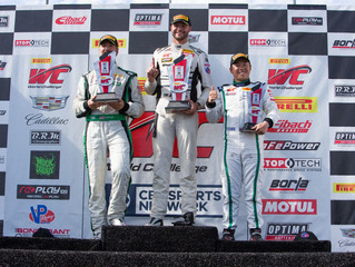O'Connell Wins GT Finale in Wild Finish; MacNeil, Fergus Take GTA, GT Cup Victories