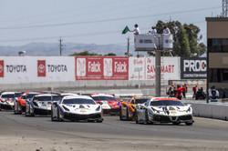 Ferrari leading the pack.