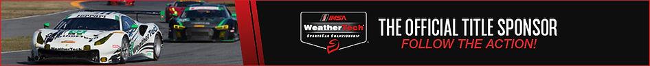 WeatherTech Racing Title Sponsor Banner