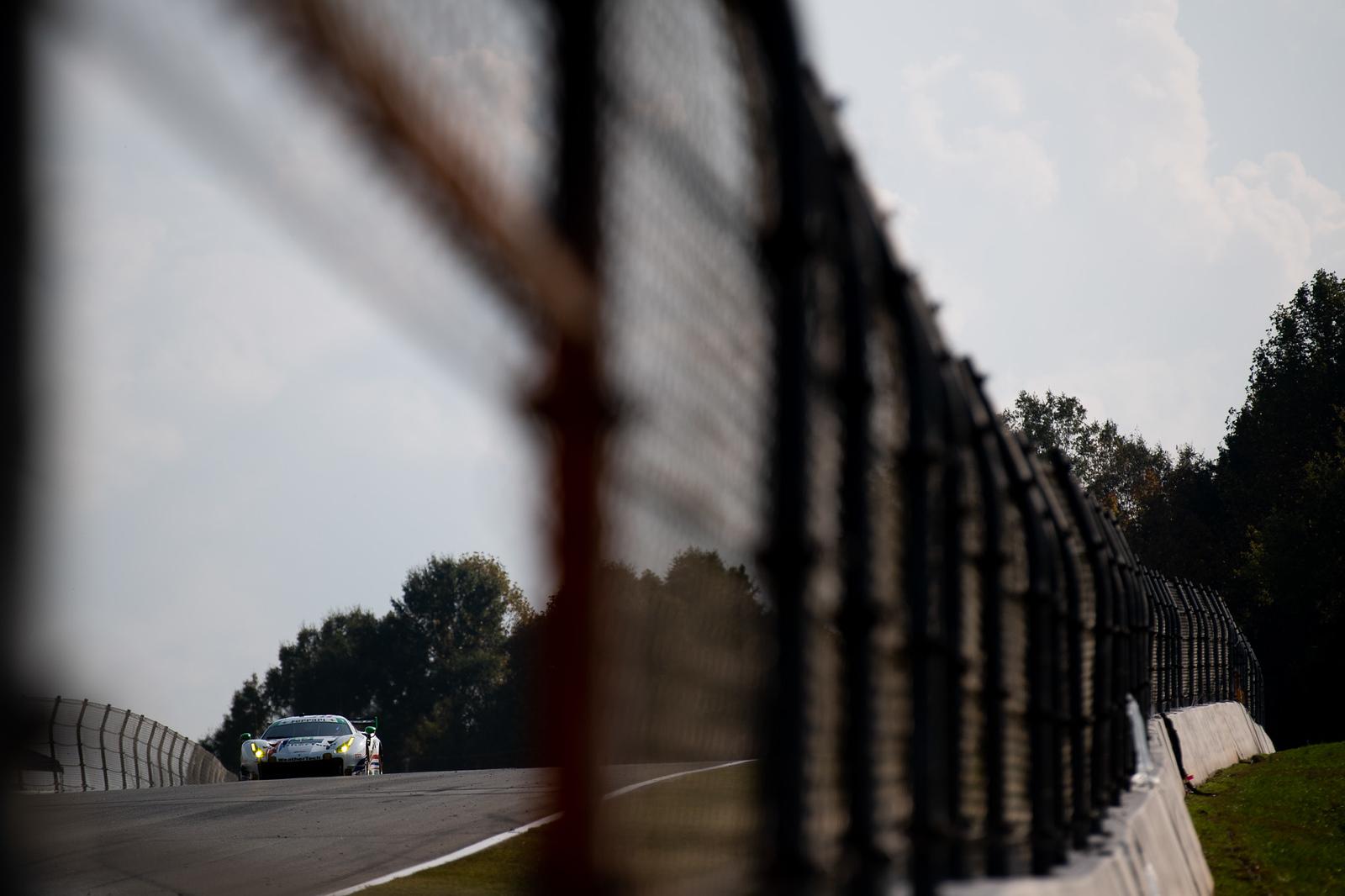 Ferrari in the distance.
