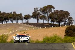Ferrari on the track.