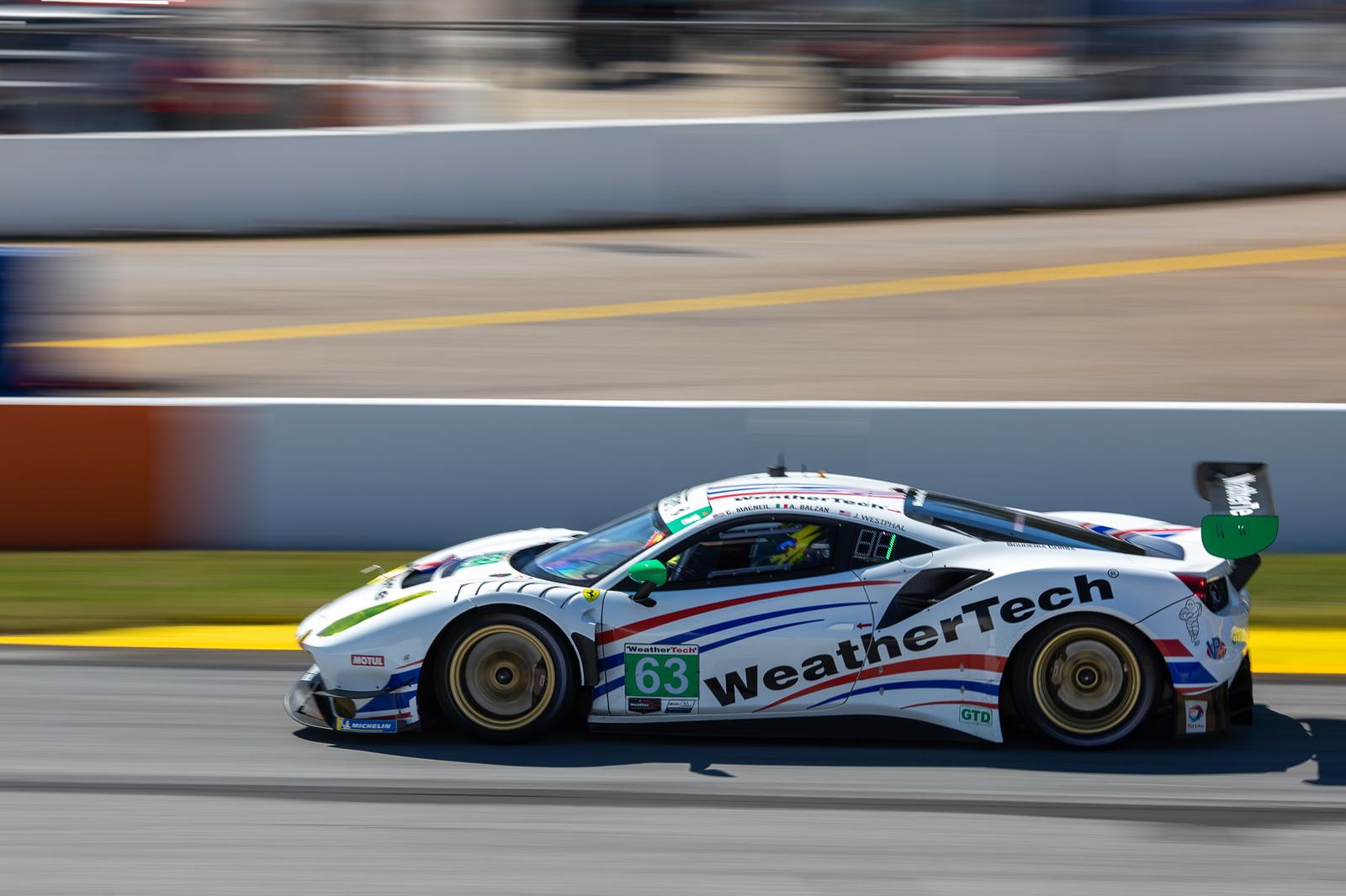 Car racing.