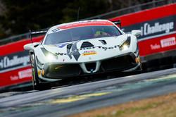 Ferrari on track at VIR.
