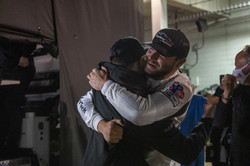 Drivers celebrating the win.