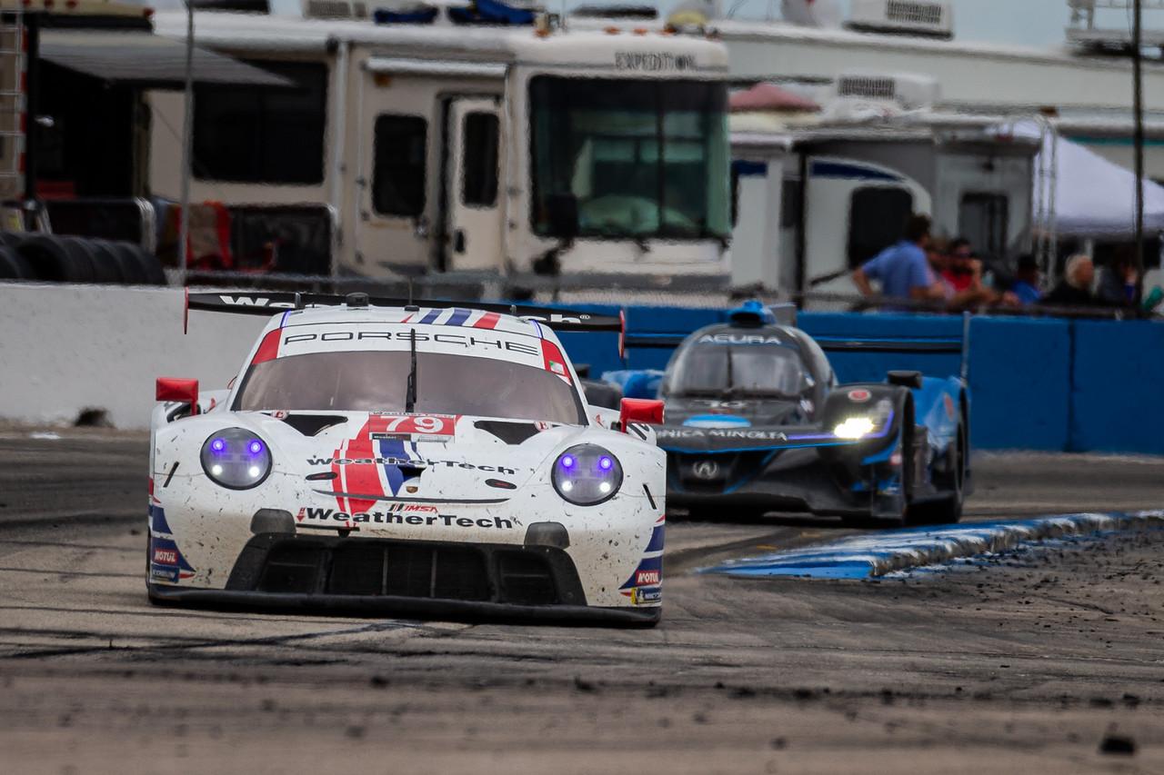 Porsche racing at Sebring.