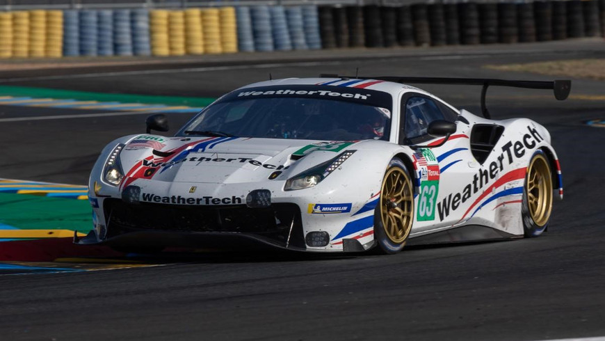 WeatherTech Racing Caps Two Days on Track at Le Mans