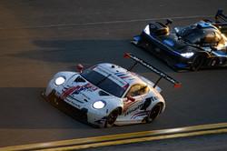 Porsche in traffic_