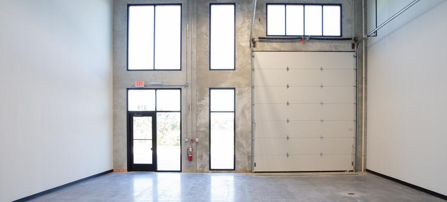 Inside view of bronze unit.