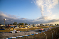 Porsche under Sebring skies.