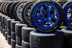 Shot of the tires.