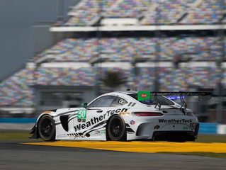 WeatherTech Racing Mercedes-AMG GT3 starts 24th for the Rolex 24