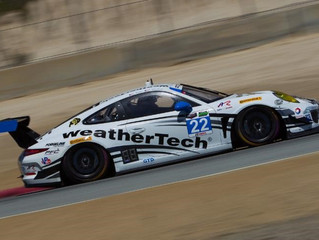 WeatherTech Racing Finishes Seventh at Laguna Seca
