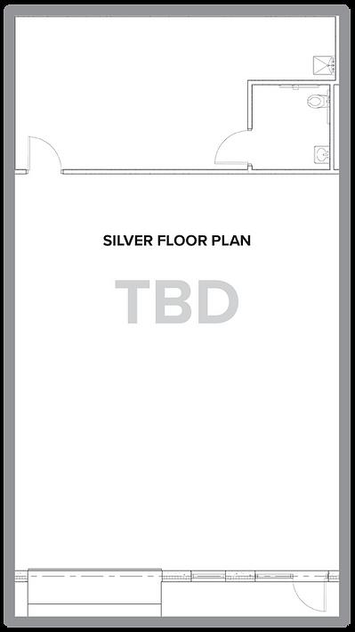 Silver unit floor plan.