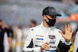 Driver during pre-race_