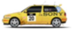 RacingLine Volkswagen Racing Golf 3 rally car McRea