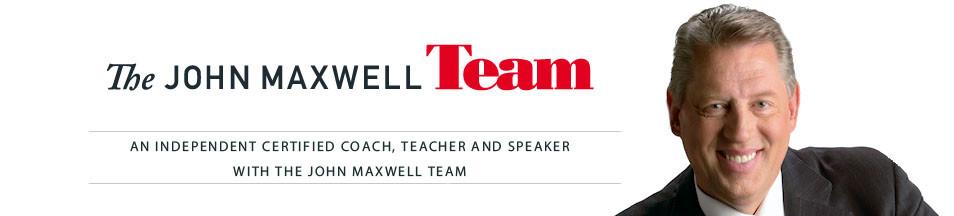 John Maxwell certified coach, teacher and speaker
