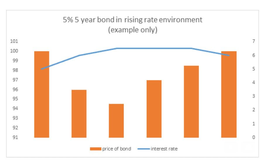 fixed income, bond raising, environment rate, 5 year bond, fixed income education