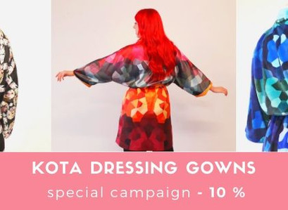 KOTA Dressing gowns - 10% special offer