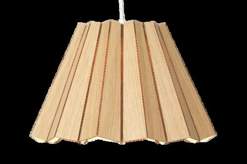 Cardboard pendant- Oak veneer