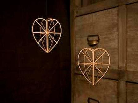 Sydan (heart)- nordic hanging decor
