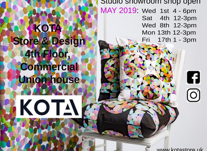 Studio showroom shop opening hours for MAY