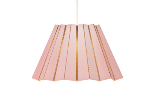 CARDBOARD Pendant light- Pink