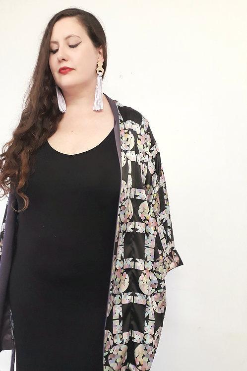 Dressing gown kimono 'diamond bubble' by KOTA